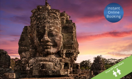 Cambodia: From $429 Per Person for a 3 Night Angkor Wat Tour with Meals and Transfers by Halong Tours Booking
