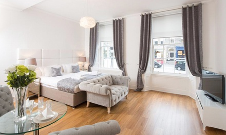 Edinburgh: OneNight Stay for Two or Six at Luxury Central Edinburgh Apartments