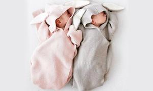 Gigoteuse bébé tricotée Lapin