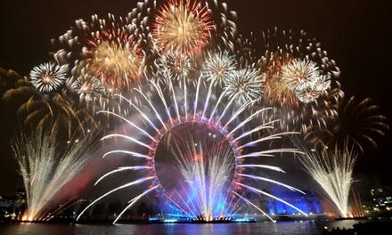Vier Oud & Nieuw in Londen of Parijs tijdens een 1 tot 3daagse luxe busreis, naar keuze met 1 of 2 overnachtingen