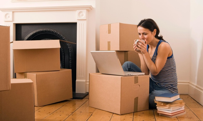 D&l Moving - Los Angeles: Three Hours of Moving Services with Two Movers and Supplies from D&L Moving (45% Off)