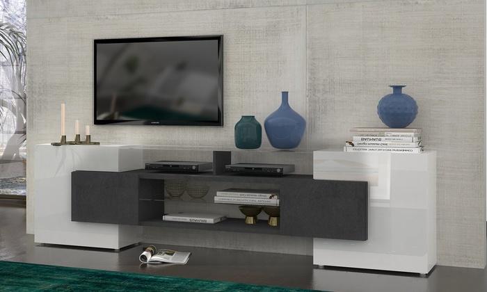 meilleur service 2226d 722d2 Meuble TV design italien   Groupon Shopping