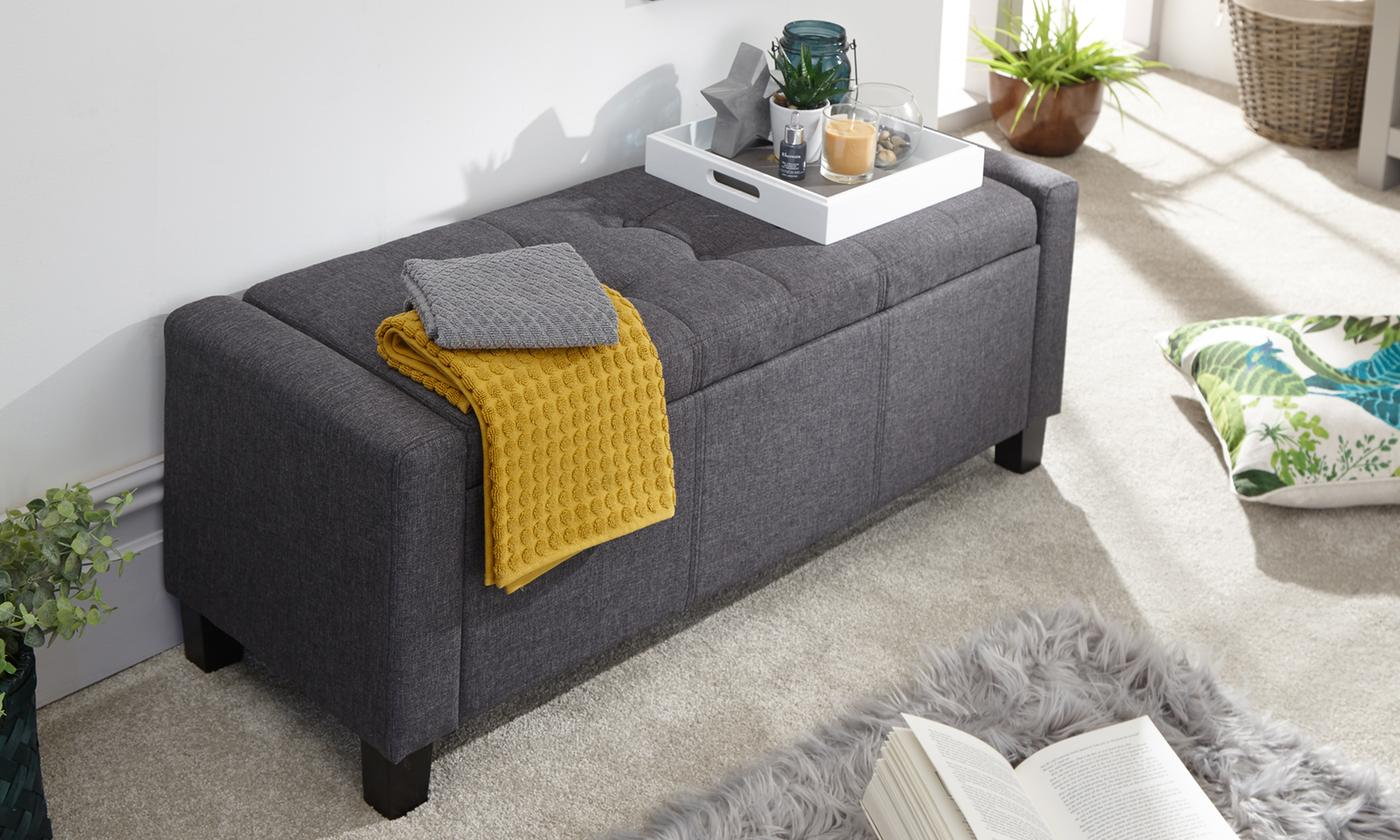 Verona Ottoman Box or Window Seat With Free Delivery