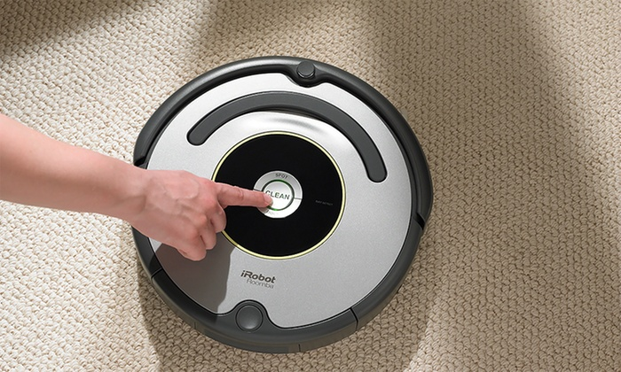IRobot Roomba 650 Robotic Vacuum Cleaner Manufacturer Refurbished