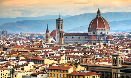 ✈ Florence: 2 to 4 Nights with Return Flights and Breakfast at Choice of Hotels*