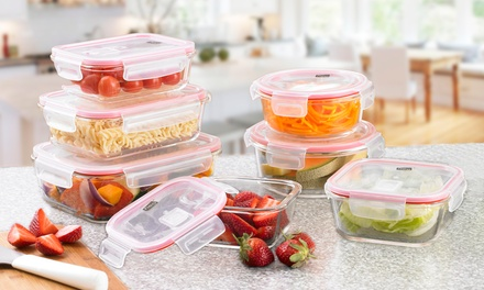 Neo 14-Piece Glass Container Set