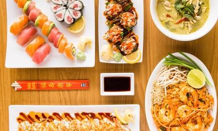 20% Cash Back at Cafe Modern Plus Thai&Sushi