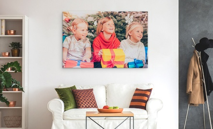 custom xxxl canvas prints canvasonsale groupon. Black Bedroom Furniture Sets. Home Design Ideas