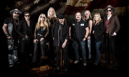Lynyrd Skynyrd: Last of the Street Survivors Farewell Tour on Friday, August 30, at 6 p.m.