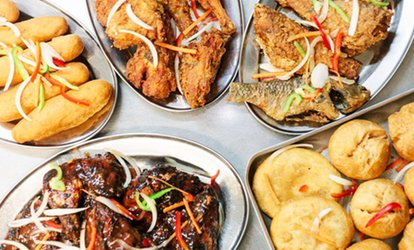 image for Two-Course Caribbean Meal with Cocktails for Two or Four at Leilani Restaurant & Ashanti Lounge Bar (Up to 71% Off)