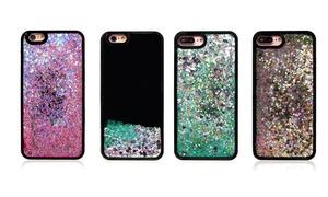 Quicksand Shiny Flowing Glitter Black Liquid Case for iPhone at Quicksand Shiny Flowing Glitter Black Liquid Case for iPhone, plus 6.0% Cash Back from Ebates.