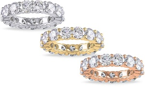 6.00 CTTW Cubic Zirconia Eternity Band by Elements of Love