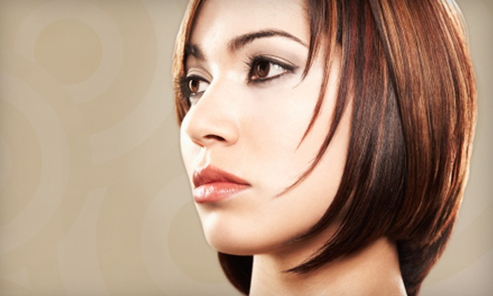 Angles Hair and Aesthetics - Citadel: Haircut and Deep Condition with Optional Colour or Highlights at Angles Hair and Aesthetics (Up to 57% Off)
