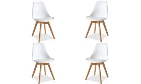 Pack de 4 sillas de estilo escandinavo modelos Freya o Eyra