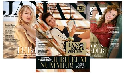 (Half)jaarabonnement op de no nonsense glossy JAN Magazine, je abonnement stopt automatisch