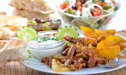 Exklusives griechisches 4 Gänge Menü für 2 oder 4 Personen im Restaurant Syrtaki (bis zu 43% sparen*)