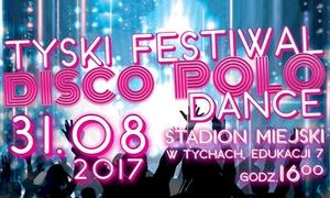 Tyski Festiwal Disco Polo Dance: Od 39,99 zł: bilet na Tyski Festiwal Disco Polo & Dance w Tychach