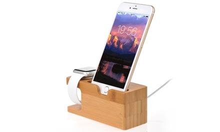 iMounTEK Bamboo Charging Stand