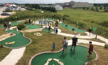 Up to 51% Off Jurassic Mini-Golf at Field Station: Dinosaurs