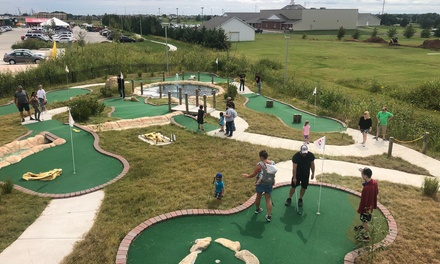 18-Hole Round of Jurassic Mini-Golf for One, Two, or Four at Field Station: Dinosaurs (Up to 51% Off)