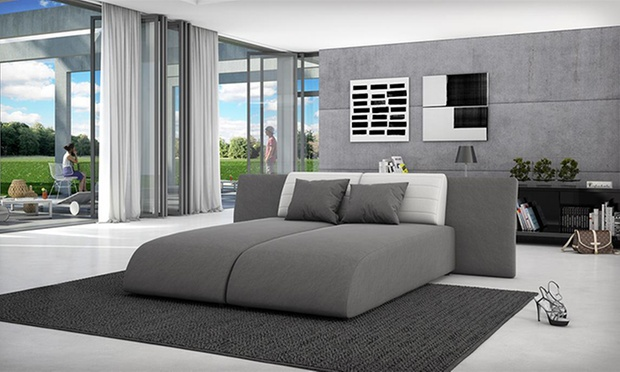 Kawola lounge sofa kombination groupon goods for Ecksofa nelson