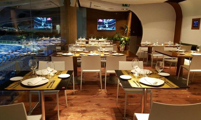 Real Café Bernabéu Desde 49 90 Madrid Groupon