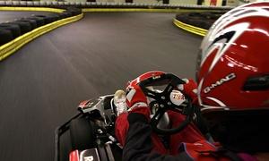 Indoor Kartbahn Werther: 15 oder 30 Min. Kart fahren inkl. Sturmhaube, Handschuhen und Leihhelm mit Indoor Kartbahn Werther (bis zu 42% sparen*)