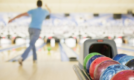 Up to 56% off Two Hours of Bowling for Up to Six Plus Shoe Rental and Food Credit