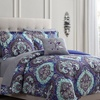 Printed Reversible Comforter Set with Sheets (6- or 8-Piece)