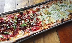 L'asso: Italian-Style Pizza at L'asso (50% Off). Two Options Available.