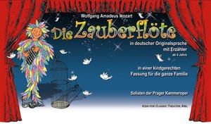 Go 2 Convent: Die Zauberflöte in kindgerechter Fassung mit Erzähler in 11 Städten, u. a. Berlin, HH, Dresden, München (bis 41% sparen)