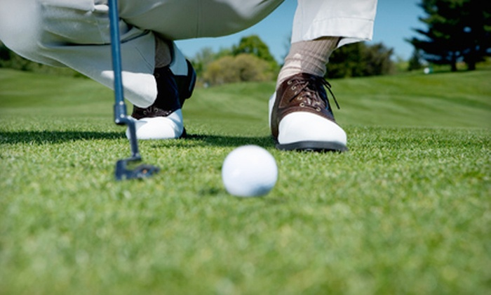 South Shore - Hamburg: $34 for 18-Hole Golf Outing for Two with Drinks and Range Balls at South Shore ($69 Value)