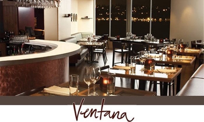 Ventana Restaurant - Belltown: $25 for $50 Worth of Small-Plate American Dishes and Drinks at Ventana Restaurant