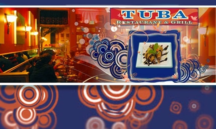 Tuba Restaurant and Grill - Noe Valley: $12 for $25 Worth of Food & Drink at Tuba Restaurant & Grill