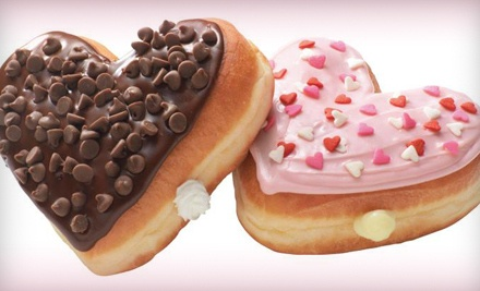 4 Heart-Shaped or Regular Donuts and 2 Twenty-Ounce Coffees (an $8 value) - Dunkin' Donuts in Morristown