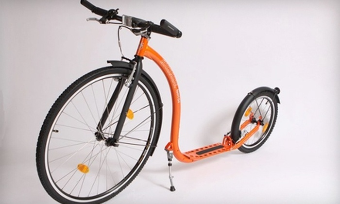 Kick Austin Weird - Round Rock: $10 for a Six-Hour Kickbike Rental with Delivery and Pickup from Kick Austin Weird ($21 Value)