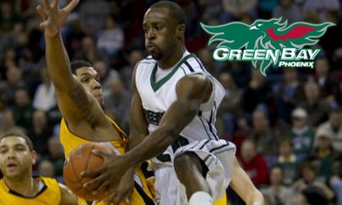 University of Wisconsin, Green Bay Athletics - Multiple Locations: $8 for a Ticket to the Green Bay Phoenix Men's Basketball Game vs. the University of Detroit on Sunday, January 30 ($16 Value)