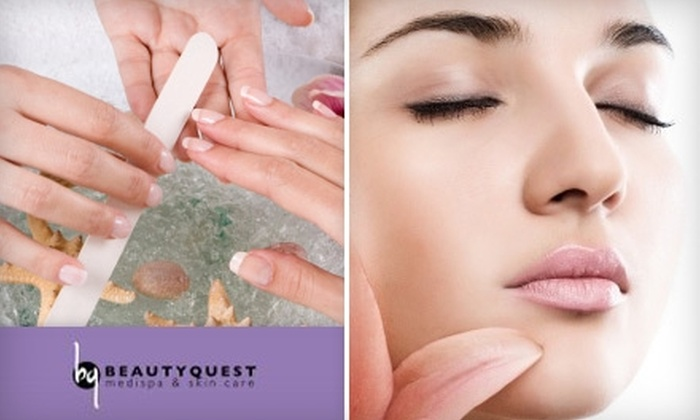 BeautyQuest Medispa & Skin Care - Multiple Locations: 56% Off Facial and Manicure at BeautyQuest