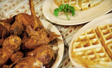 Chicken-and-Waffle Dinner for 2 (an $18 value) - Come and Get It! Chicken and Waffles in Fresno