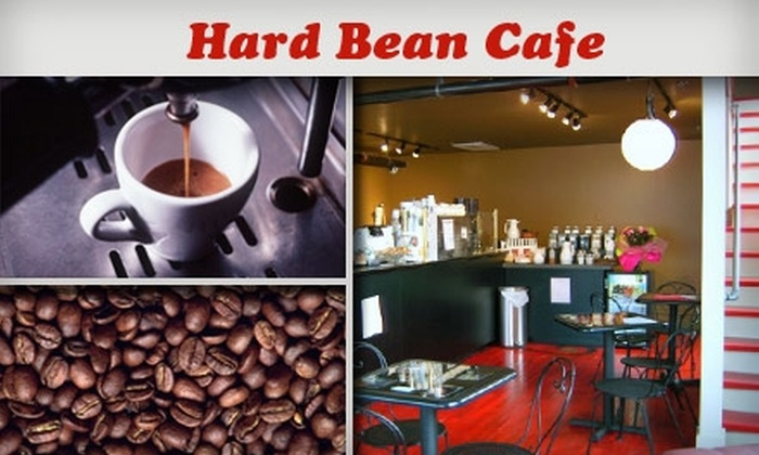 Hard Bean Cafe - Grandview: $3 for $6 Worth of Coffees and Treats at Hard Bean Cafe
