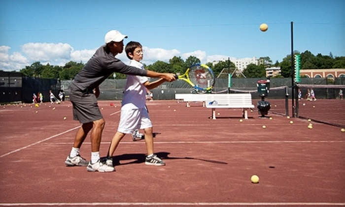Sportime - Mamaroneck: Two One-Hour Private Tennis Lessons or Two 90-Minute Group Tennis Lessons at Sportime in Mamaroneck