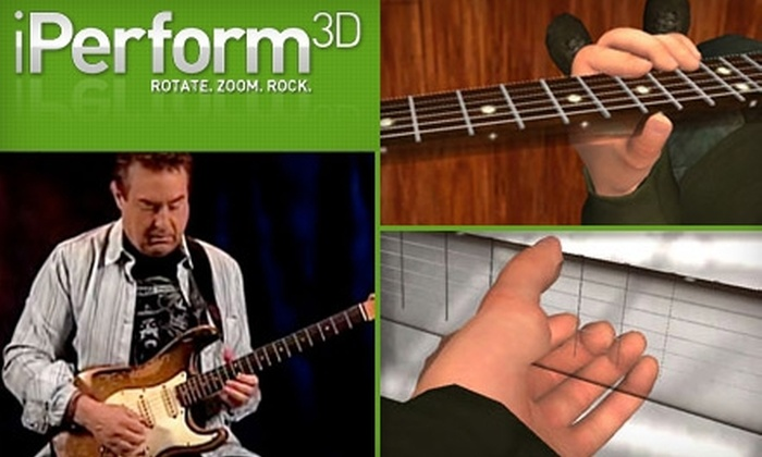 iPerform3d - Denver: $59 for a Year-Long Membership to 3-D Animated Guitar Lessons from iPerform3D ($130 Value)