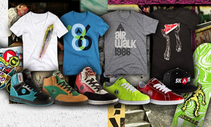 Airwalk: $25 for $50 Worth of Apparel, Footwear, and Accessories from Airwalk.com