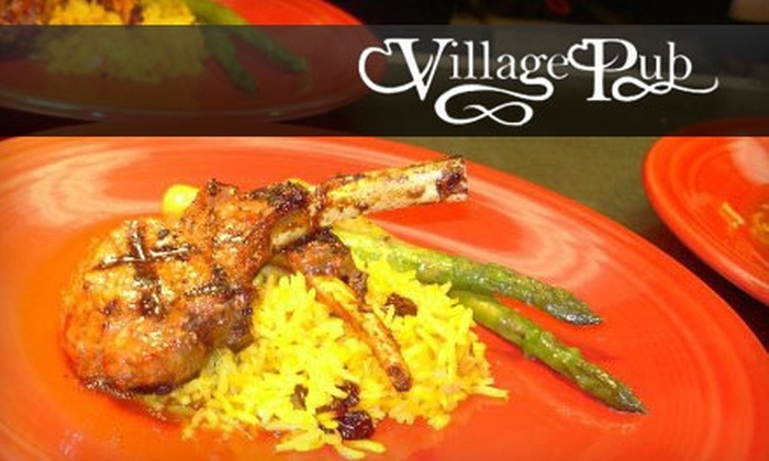Village Pub - Audubon Park: $15 for $30 Worth of Casual Dining and Drinks at Village Pub
