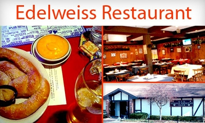 Edelweiss Restaurant - Indianapolis: $10 for One Ticket to the American German Klub's Oktoberfest, Plus up to $20 Worth of Deutsch Fare in German Park (up to $25 value)