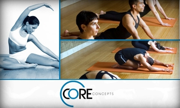 Core Concepts - Historic Third Ward: $25 for Four Pilates Mat Classes at Core Concepts ($60 Value)