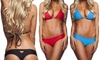 Slip Bikini modello Sunhole Tattoo