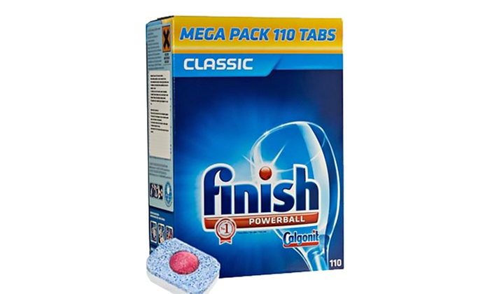110 , 220, 330 or 440 Finish Powerball Classic Dishwasher Detergent Tablets from £9.98