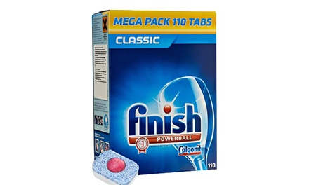 110 , 220, 330 or 440 Finish Powerball Classic Dishwasher Detergent Tablets