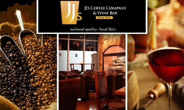 JJ's Coffee and Wine Bar - Eden Prairie: $10 for $20 Worth of Coffee, Wine, and Snacks at JJ's Coffee and Wine Bar
